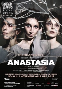 Poster di Anastasia. Royal Opera House al cinema.