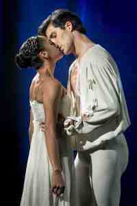 Misty Copeland e Roberto Bolle. © Ph. Laura Ferrari