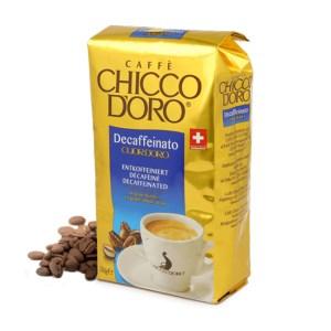 Caffè Chicco d'oro in grani Cuor d'Oro decaffeinato