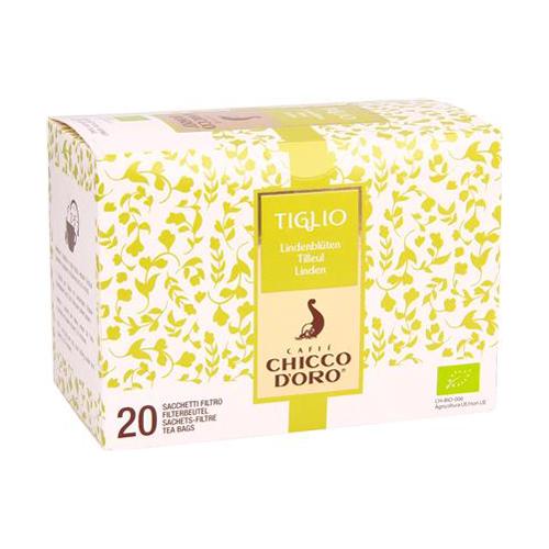 Tè Tiglio Bio 20 Filtri Chicco d'Oro