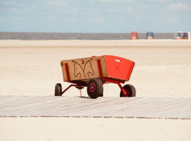 Semplici ma maneggevoli da trasportare, i carrelli trolley sono costruiti con. I 9 Migliori Carrelli Da Spiaggia Per Trasportare Tutto Comodamente