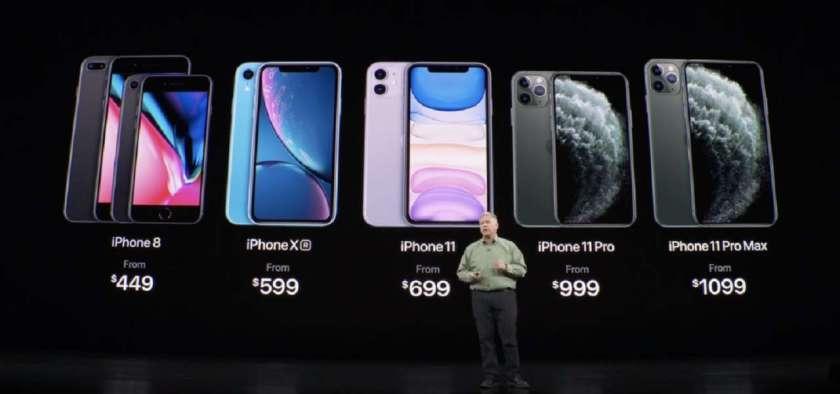 Prezzi con iPhone 11