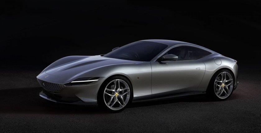 Ferrari Roma tecnologie