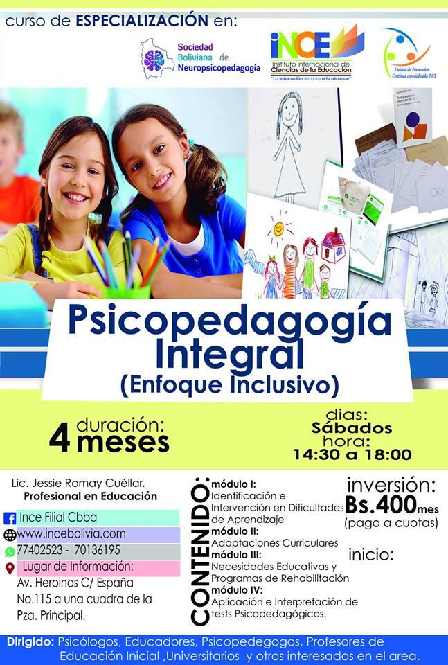 PSICOPEDAGOGIA INTEGRAL
