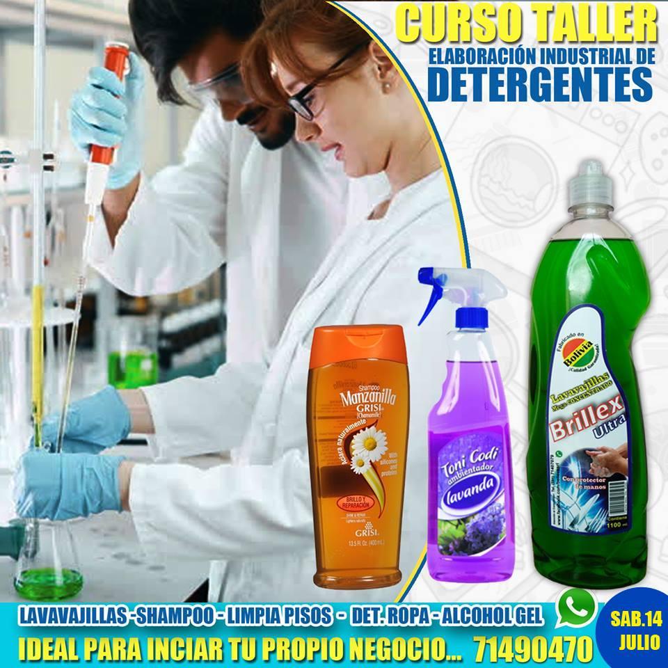 Elaboracion industrial de detergentes