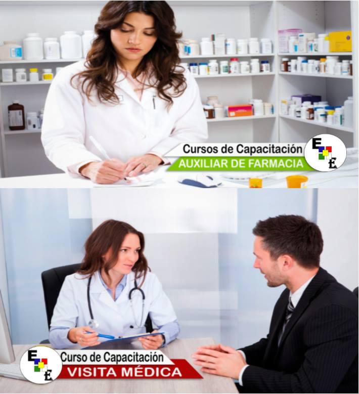 AUXILIAR DE FARMACIA Y VISITADOR MEDICO