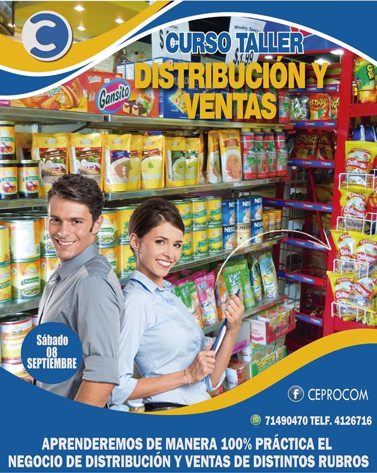 """"""" DISTRIBUCIÓN MAYORISTA Y VENTAS DE PRODUCTOS DE CONSUMO MASIVO"""