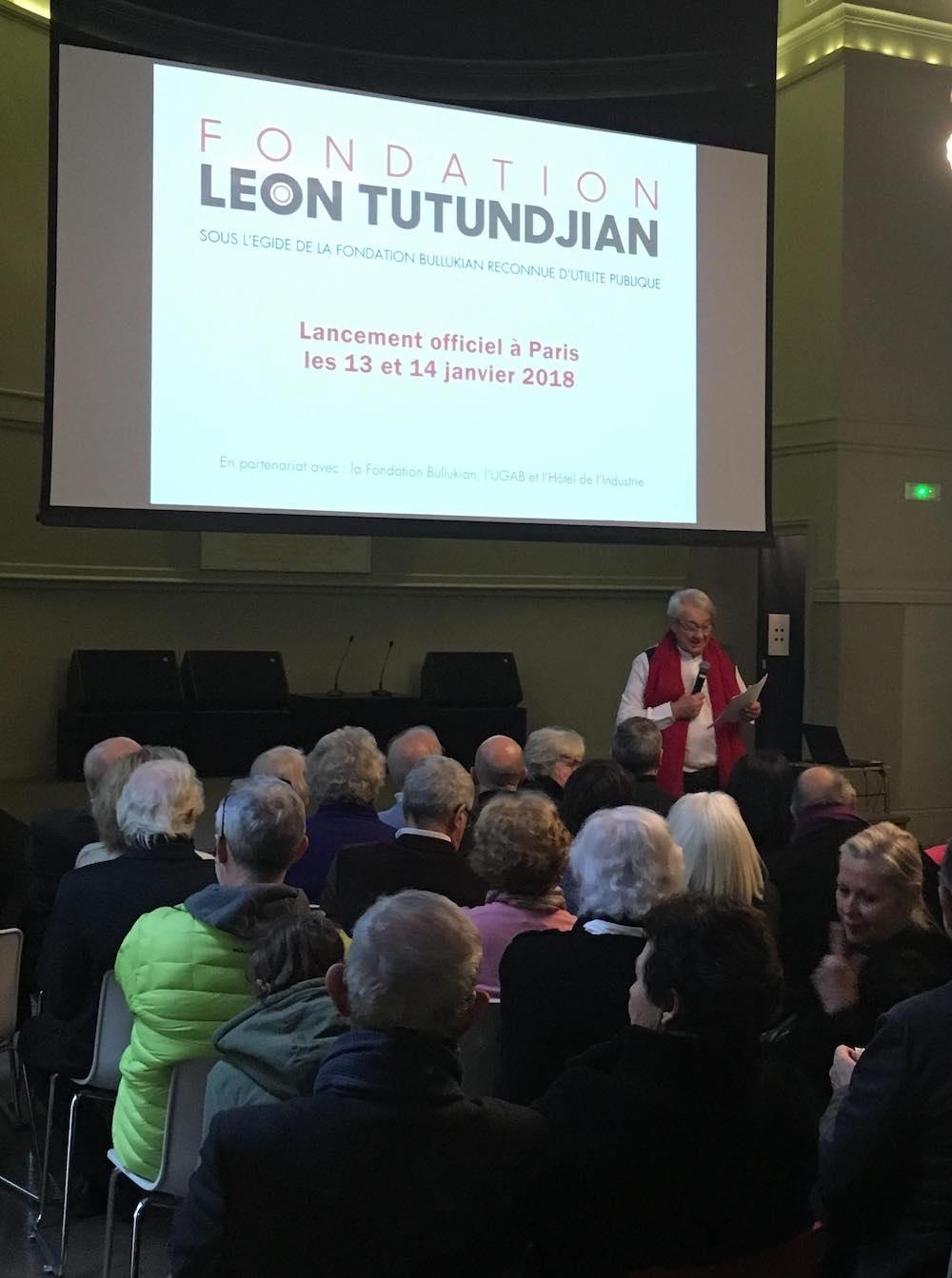 First edition of the Léon Tutundjian Foundation Days : Alain Le Gaillard