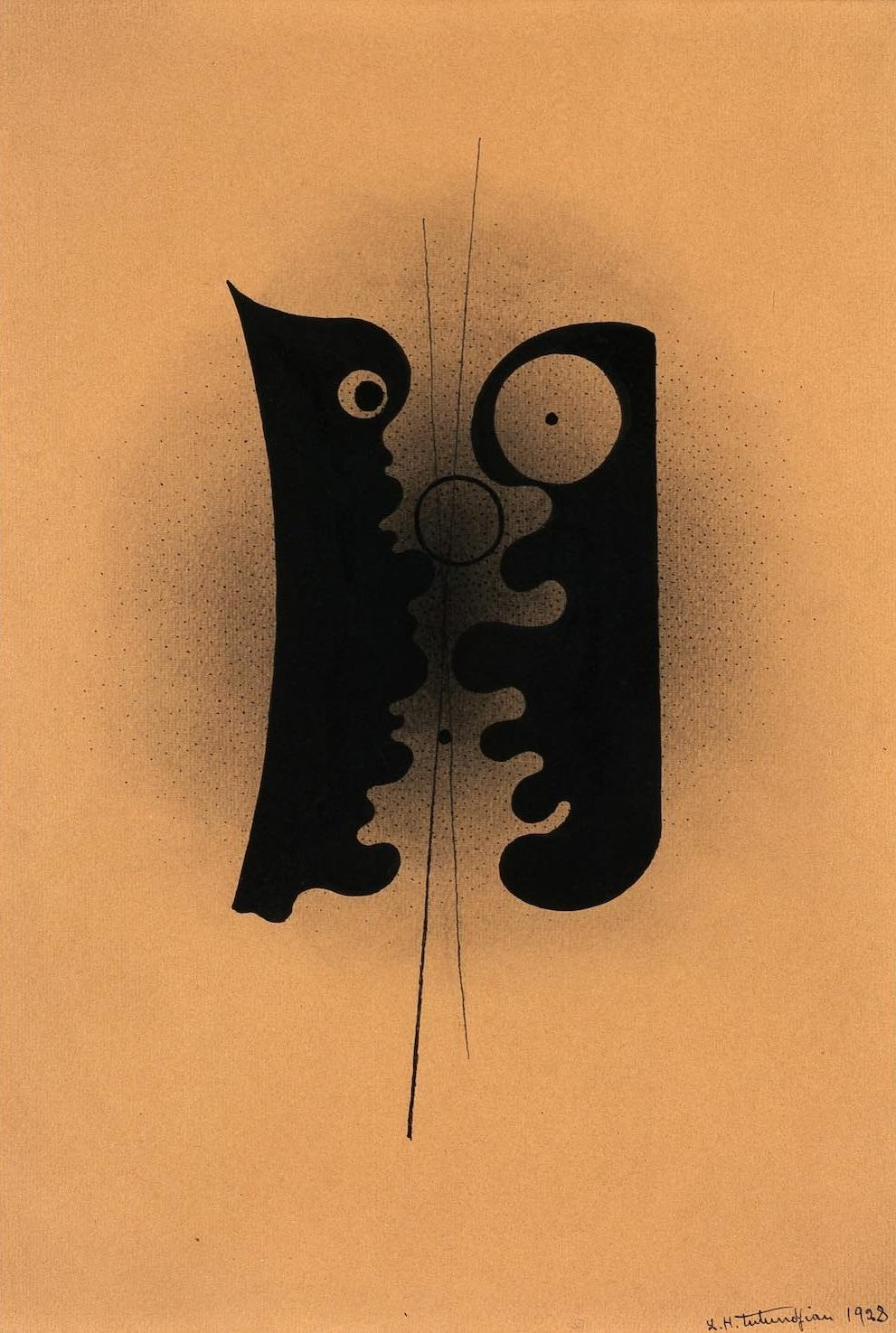 Untitled, 1928, ink on paper, 30 x 21,5 cm