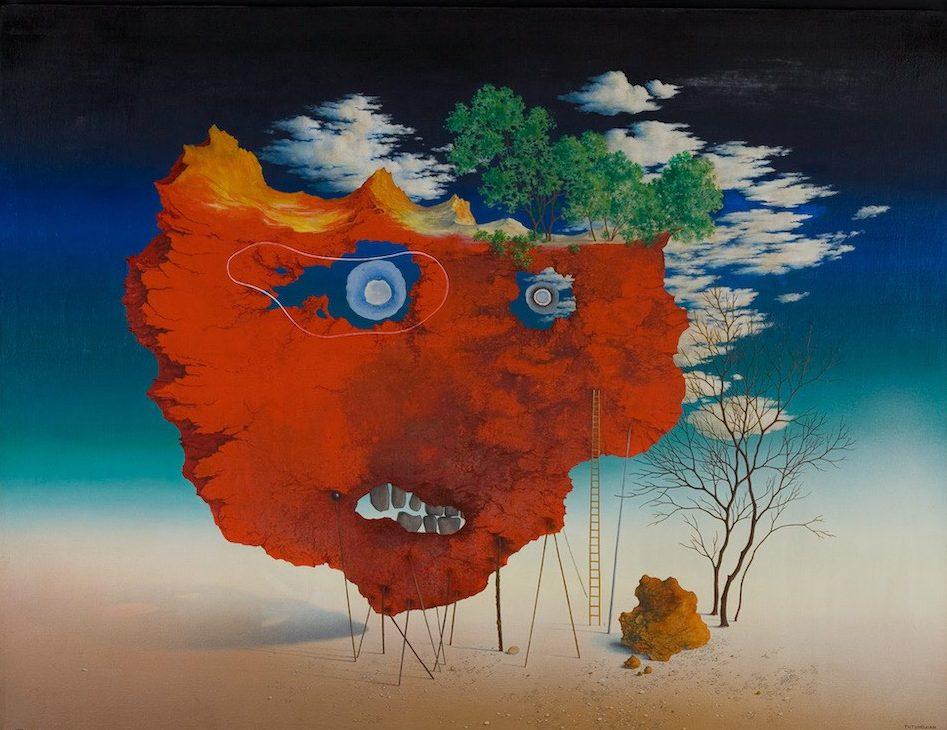 Sans titre, huile sur toile, 89 x 116,5 cm, collection privée