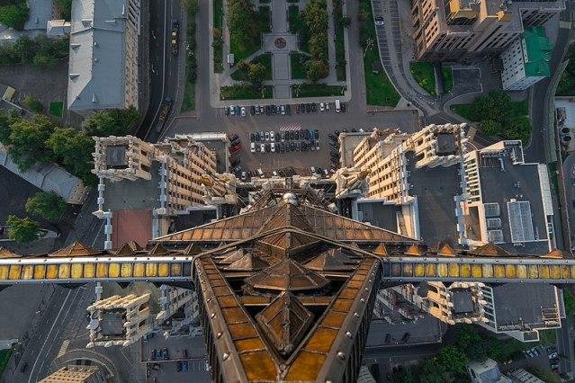 Звезда высотки на Кудринской, 2015 год