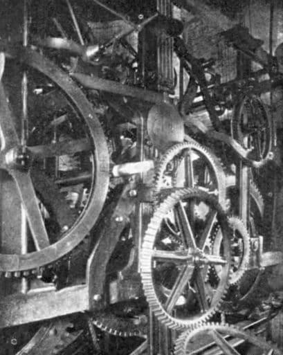 Механизм кремлёвских часов, конец XIX века
