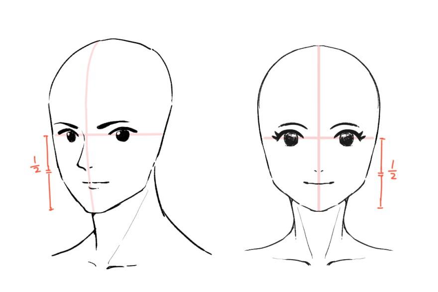 簡単顔の描き方6