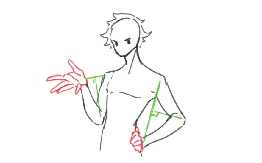 腕の描き方9