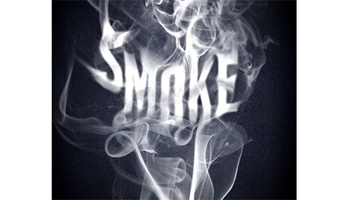 Create an Easy Smoke Type Effect Using the Smudge Tool | Tutvid.com