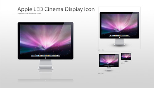 "Apple LED 24"" Display Icon"