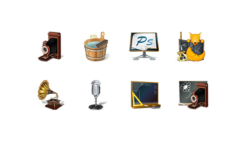 Old School Icons