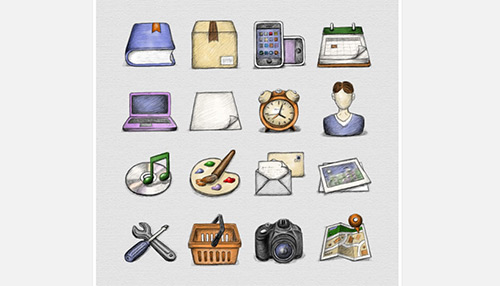 16 Free Sketch Icons