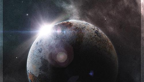 Create a Retro-Futuristic Space Poster in Photoshop | Tutvid.com