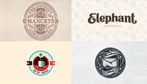 Showcase: 50 Retro Logos for Your Inspiration