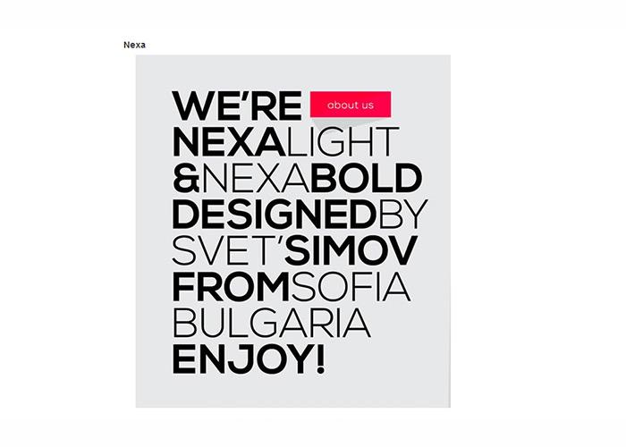 10 Beautiful New Free Fonts