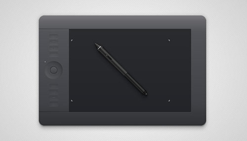 How to Create a Semi-Realistic Graphics Tablet in Adobe Illustrator
