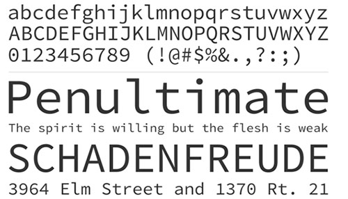 35 Beautiful Free Web Fonts Collection of 2013