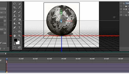 Basic 3D Animation Setup Steps in Photoshop CS6