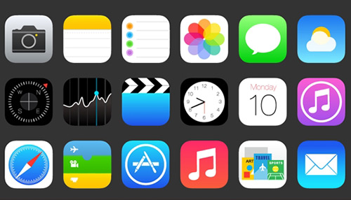 Free Icon Set: iOS 7 Vector Icons
