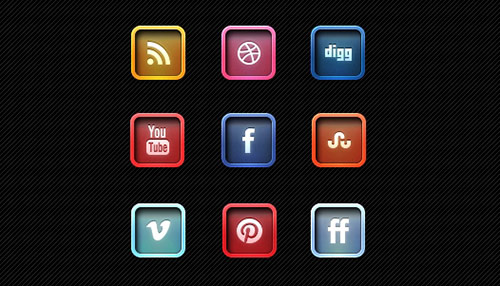 Free and Useful Social Media Icon Sets