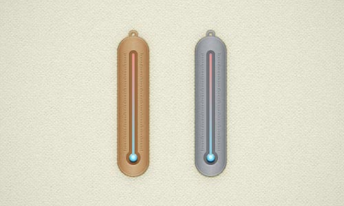 Create a Simple Thermometer lllustration in Adobe Illustrator