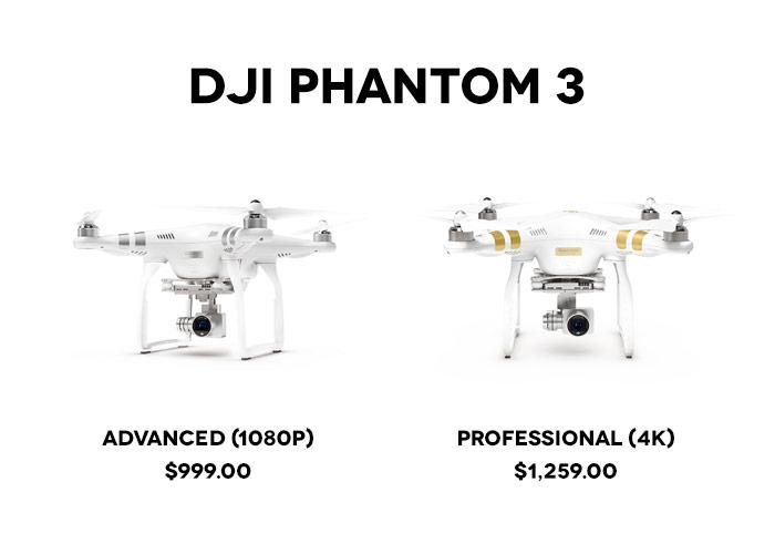 New DJI Phantom 3