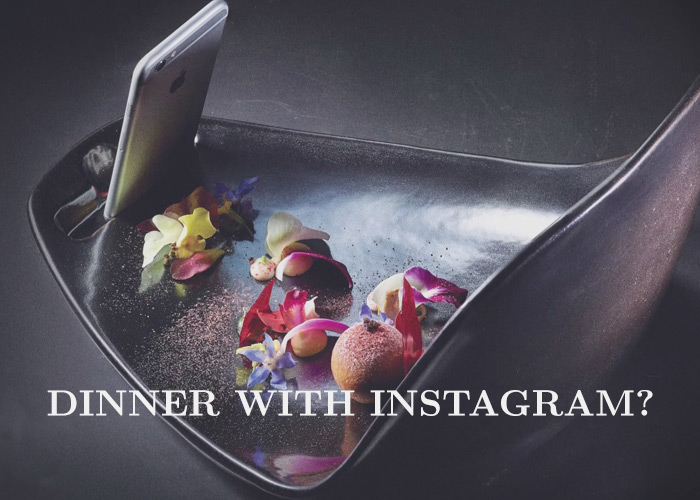 This Restaurant Made Special Plates for Smartphone Food Photos