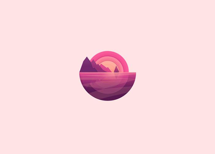 Flat Design Inspiration - Logos