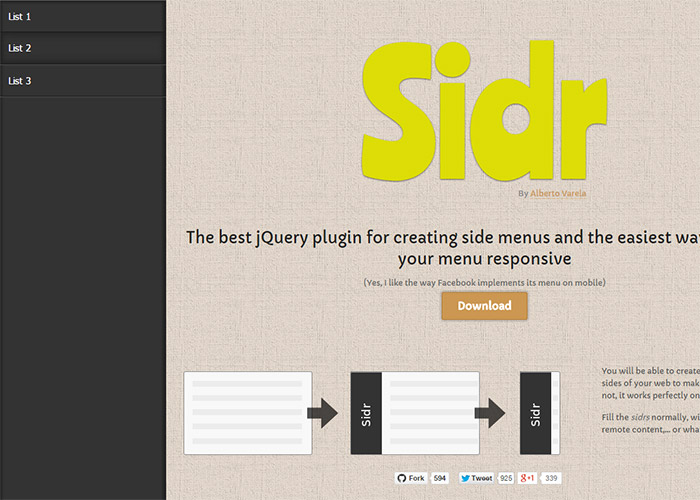 sidr-30-best-jquery-plugins-for-web-design