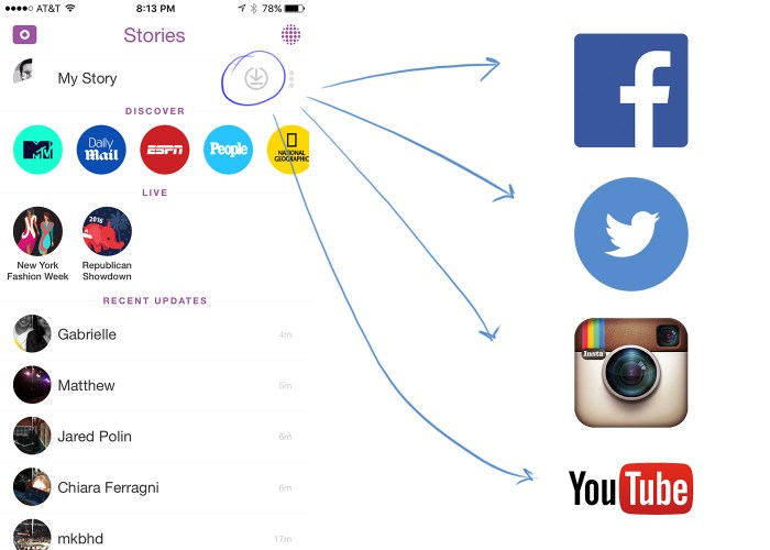 share-snapchat-story-to-other-social-media