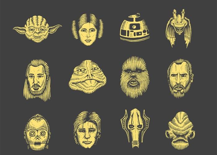 hand-drawn-star-wars-icons