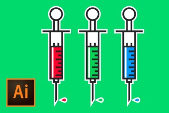 syringe-illustration-illustrator-tutorial