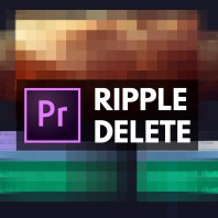 ripple delete how to premiere pro video editing tutorial