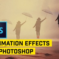 Create Floating Woman Animation (Beginners Guide to Animating) in Photoshop
