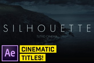 Clean Cinematic Titles in After Effects CC