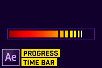 Build a CUSTOM Progress Bar in After Effects CC