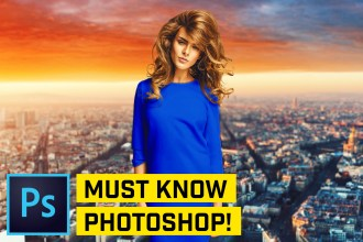5 MUST KNOW Photoshop Tips & Tricks (FIVE MINUTES)