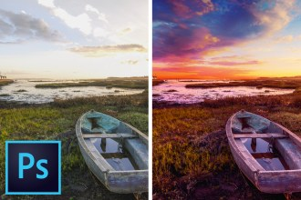 The BEST Sky REPLACEMENT Technique for PHOTOSHOP CC