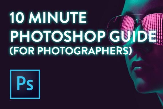 Learn Photoshop for Photographers! (Beginner Tutorial)