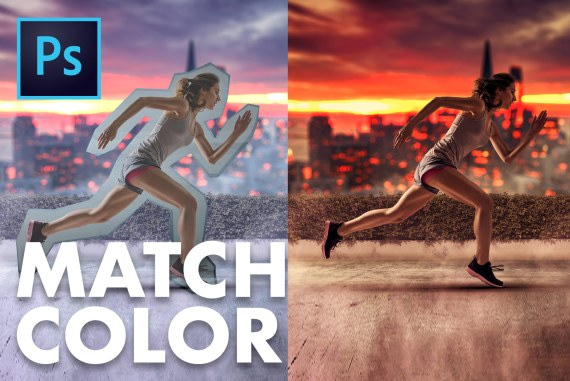 How to Match Color and Light in Photoshop