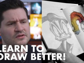 (5 Steps) HOW TO GET BETTER AT DRAWING - 5 Things That Helped Me