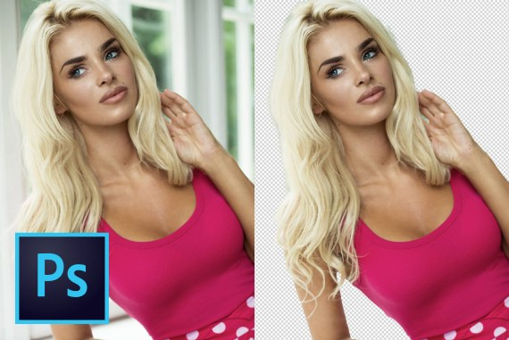 CUT OUT Hair From COMPLEX Background - Photoshop Tutorial