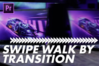 Walk By Swipe Transition Effect Premiere Pro Tutorial