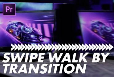 Walk By Swipe Transition Effect Premiere Pro Tutorial